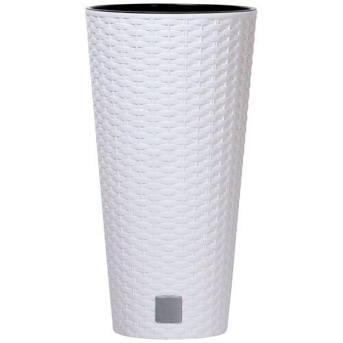 Prosperplast Blumentopf »Rato round«, weiß, Ø 30 cm, weiß
