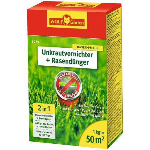 WOLF-Garten WOLF GARTEN Unkrautvernichter »SQ«, + Rasendünger, in 4 Verpackungsgrößen, weiß
