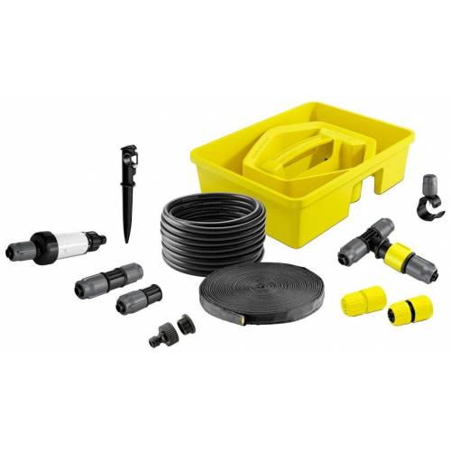 Kärcher Komplett-Set: Bewässerungszubehör »Rain Box«, gelb