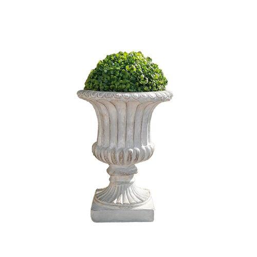 HTI-Line Pflanzkübel »Pflanzkübel Athene mit Buchsbaumkugel« (1 Stück)