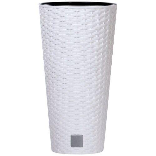 Prosperplast Blumentopf »Rato round«, weiß, Ø 40 cm, weiß