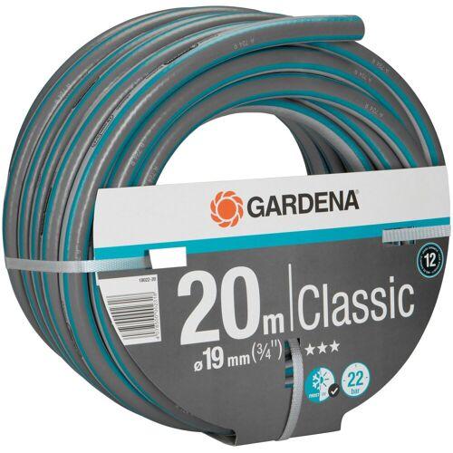 """GARDENA Gartenschlauch »Classic, 18022-20«, 19 mm (3/4""""), 20 Meter, blau"""