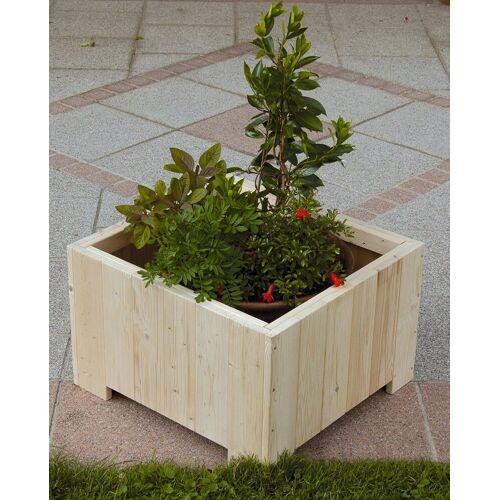 GASPO Blumenkasten »Wels«, BxTxH: 57x57x35 cm, natur