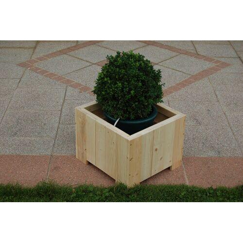 GASPO Blumenkasten »Wels«, BxTxH: 45x45x35 cm, natur