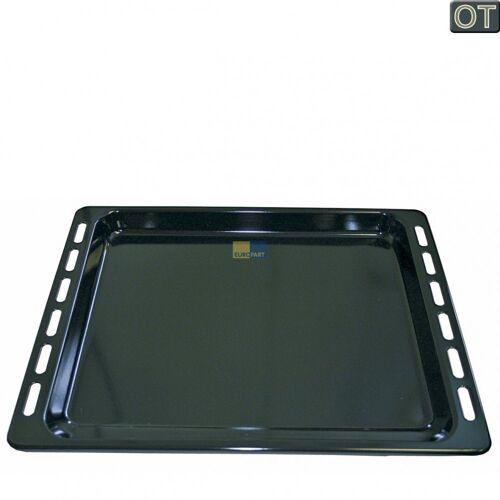 Whirlpool Backblech »2 x Backblech Fettpfanne NFP93 Bauknecht emaillier«, Metall, Typ: 481010539879