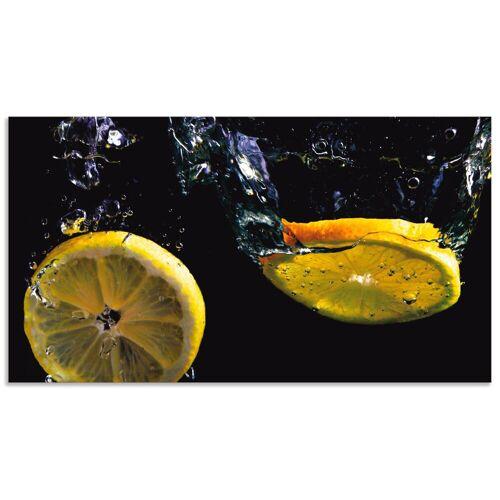 Artland Küchenrückwand »Zitronen«, (1-tlg)