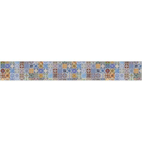 MySpotti Küchenrückwand »fixy F3«, selbstklebende und flexible Küchenrückwand-Folie, bunt
