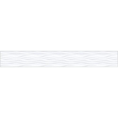 MySpotti Küchenrückwand »fixy F3«, selbstklebende und flexible Küchenrückwand-Folie, weiß