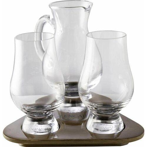 Stölzle Whiskyglas »Glencairn Glass«, Kristallglas, 2 Gläser, 1 Krug auf Tablett