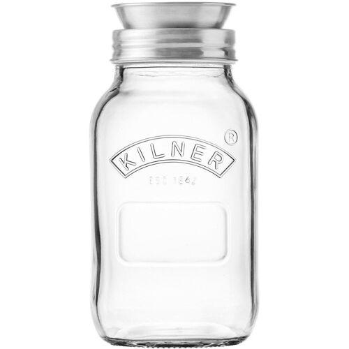 KILNER Spiralschneider (-Glas mit Spiraliser-Aufsatz), 1 Liter