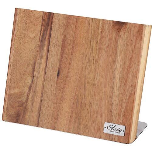 Oleio Magnet-Messerblock, Holz, magnetisch