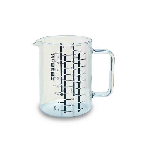 SIMAX Messbecher »Glas Messbecher mit Henkel 1,0 l«, Glas