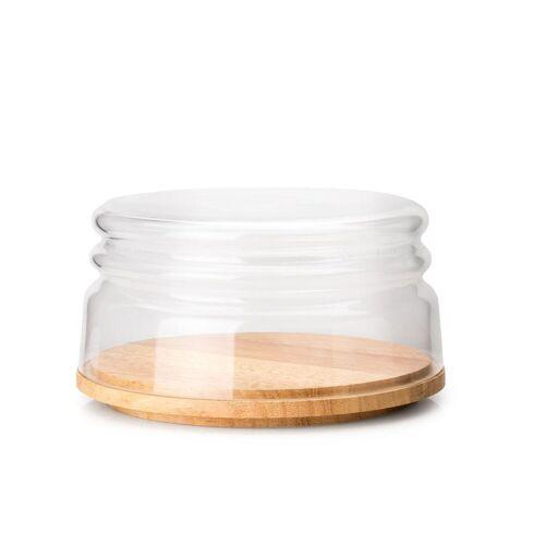 Continenta Brotkasten, Keramik, Holz, (1-tlg)