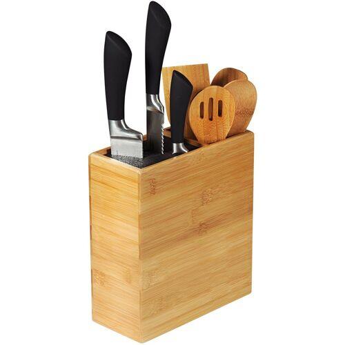 KESPER for kitchen & home Messerblock, aus Bambus