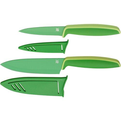 """WMF Messer-Set »2-tlg. Messerset """"Touch"""" mit Klingenschutz«, grün"""