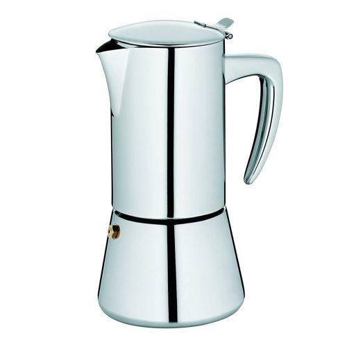 kela Espressokocher , Espressokocher, 6 Tassen, induktionsgeeign