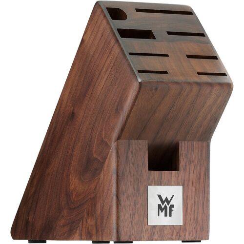 WMF Messerblock »Messerblock aus Walnussholz«