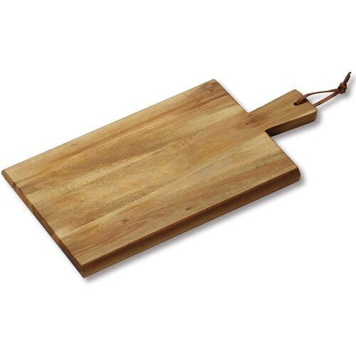 Kesper Schneidbrett »Schneidbrett mit Griff 45x22x1,5 cm«, Holz