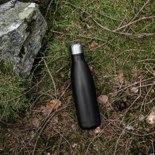 Sagaform Trinkflasche »Trinkflasche 0.5 l, schwarz«