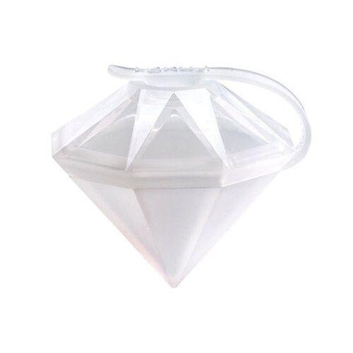 LEKUE Eiswürfelform Eiswürfel 2er-Set Diamant