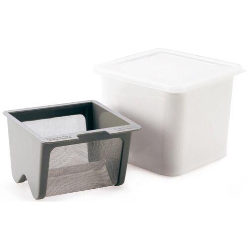 Cuisipro Küchensieb »Frischkäsebereiter«, Kunststoff, Edelstahl, weiß