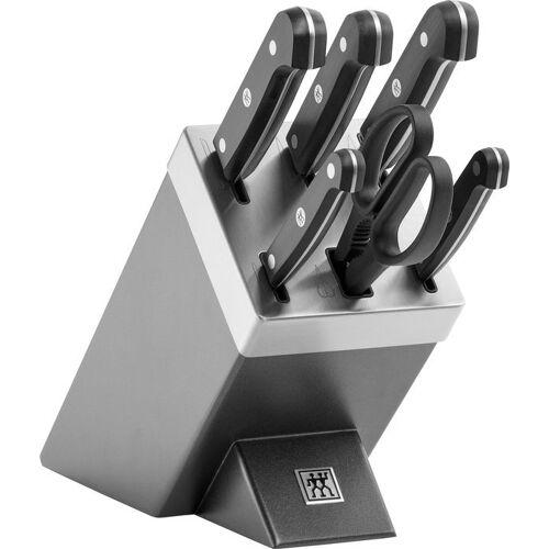 Zwilling Messerblock »Gourmet« (7tlg), selbstschärfend, grau