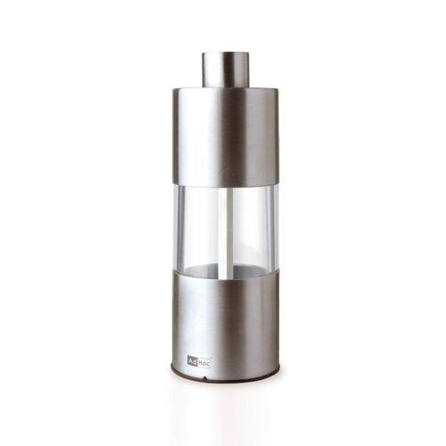 AdHoc Salz-/Pfeffermühle »Edelstahl Ceramic Mahlwerk 13 cm MP01«