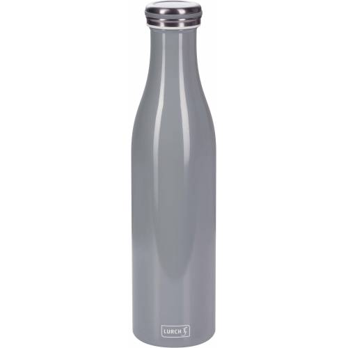 Lurch Thermoflasche, Edelstahl, 750 ml, grau