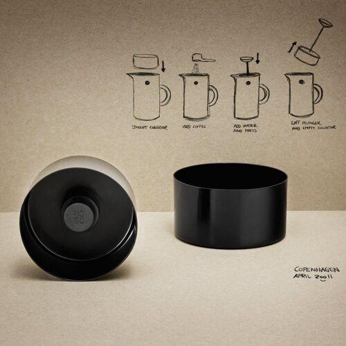 Stelton Mülleimer »RIG-TIG Kaffeesammler 8.9 cm«