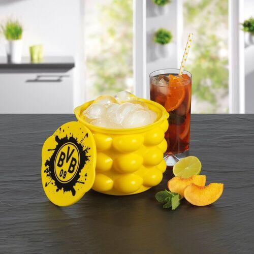 BVB Eiswürfelbehälter für bis zu 24 Eiswürfel gelb