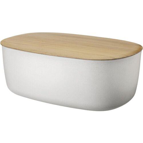 RIG-TIG Brotkasten »Box-It«, Melamin, Bambus, (1-tlg), weiß