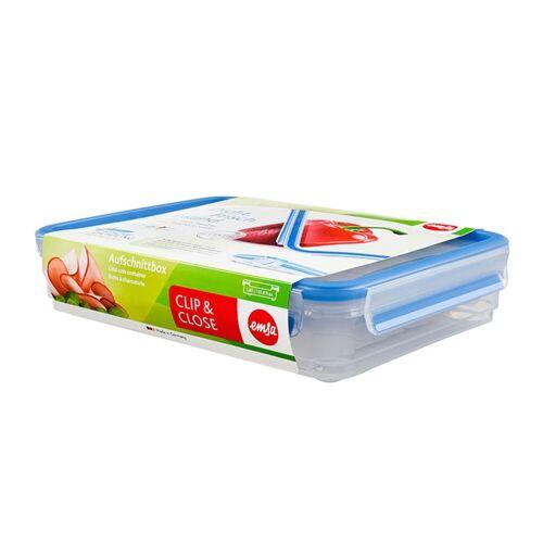 Emsa Aufbewahrungsbox »Aufschnittbox 1,65 Liter Clip Close«, Kunststoff