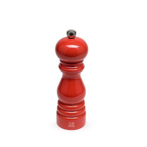 PEUGEOT Pfeffermühle »Pfeffermühle PARIS 18 cm, mohnblumenrot lackiert«, ohne uSelect