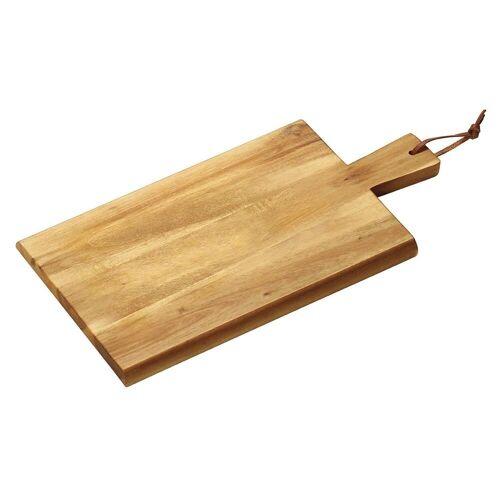 Kesper Schneidbrett »Schneidbrett mit Griff 35x18x1,5 cm«, Holz