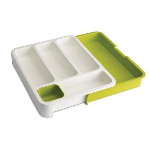 JosephJoseph Besteckeinsatz »Besteckeinsatz ausziehbar, weiß-grün«