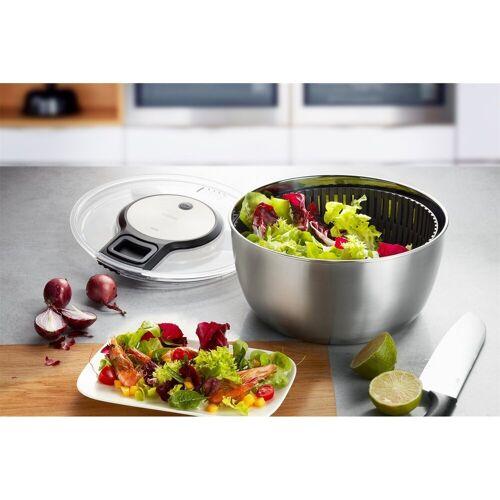 GEFU Salatschleuder »Salatschleuder SPEEDWING® Edelstahl«, Leicht zu reinigen