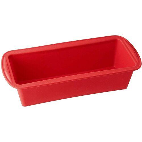 Dr. Oetker Backform »- Silikon Backform Flexxibel Kastenform 1265 Rot Brotbackform Kuchen«, (1-tlg), Antihaft-Wirkung