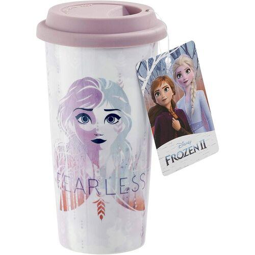 Funko Coffee-to-go-Becher »Pop! Home - Frozen 2 - Die Eiskönigin 2 - Becher Fearless - Elsa & Anna«