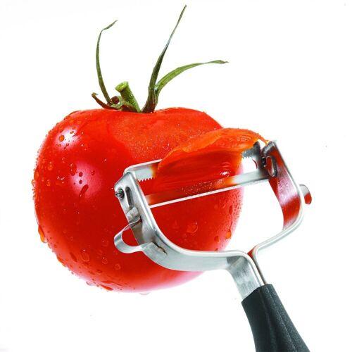 GEFU Sparschäler »Tomaten-Paprikaschäler POMODORO«, Paprikaschäler