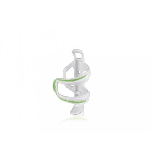 XLC Fahrrad-Flaschenhalter »Flaschenhalter Sidecage weiß/grün«