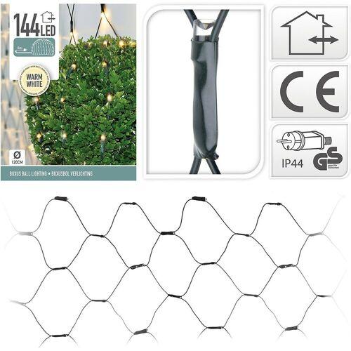 Koopmann Lichterkette »Lichternetz mit 144 LED's, warmweiß, Ø120 cm«