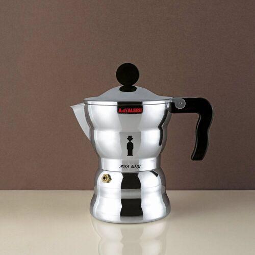 Alessi Espressokocher Espressokocher MOKA Classic 1, 0.07l Kaffeekanne