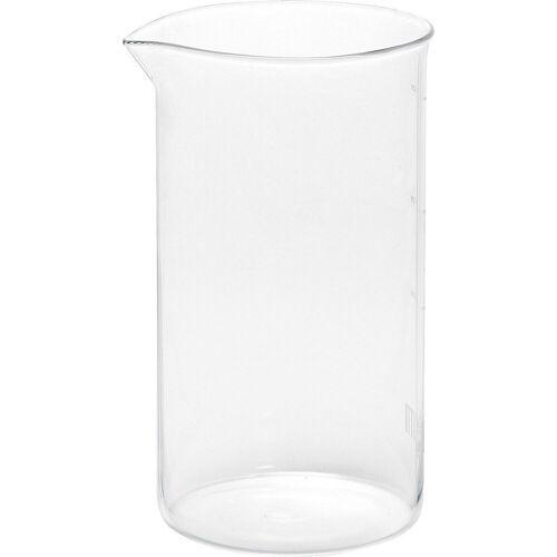 Bialetti Kaffeebereiter Ersatzglas für Kaffeebereiter 1,0l