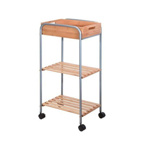 HTI-Living Küchenwagen »Küchentrolley Bambus«
