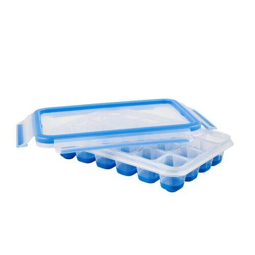 Emsa Eiswürfelbehälter »Clip & Close 2.0 Eiswürfelbox Transparent«, Kunststoff, (1-tlg)