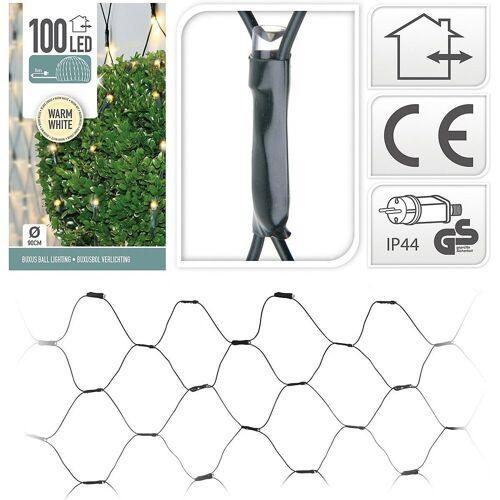 Koopmann Lichterkette »Lichternetz mit 100 LED's, warmweiß, Ø90 cm«