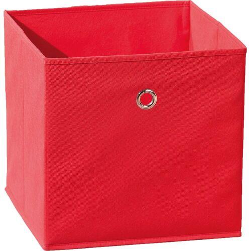 Inter Link Aufbewahrungsbox »Faltbox, grün«, rot
