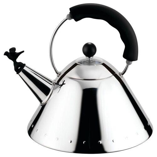 Alessi Wasserkocher Wasserkessel schwarz, 2 l