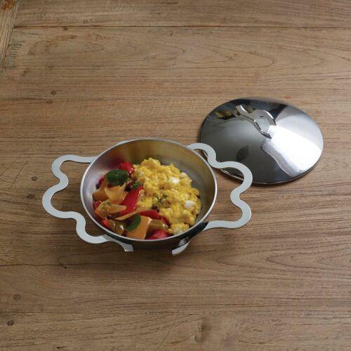Alessi Kochtopf »Eierpfännchen mit Griffen«