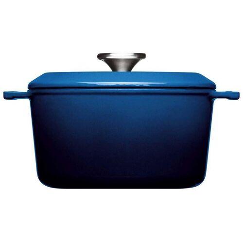 WOLL Kochtopf »Iron«, Gusseisen, (1-tlg), Ø 20 cm, Induktion, blau